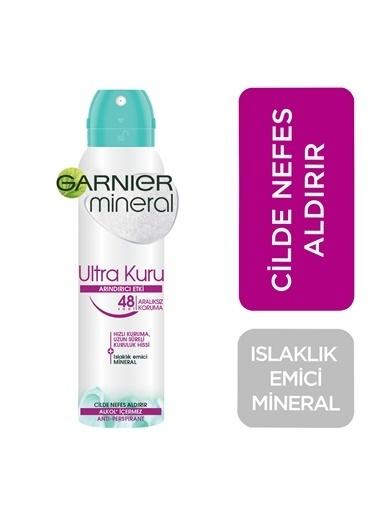 Garnier Mineral Ultra Kuru Sprey Deodorant Renksiz